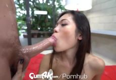 Asian Slut Takes It Hard And Deep.