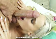 Emma Hix Mouth Fucked By A Thick Cock