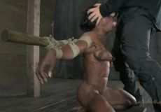Facefucked In Ropes