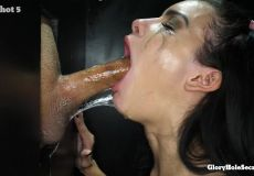 Messy At A Gloryhole