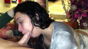 Huge Oral Creampie For Aaliyah Hadid