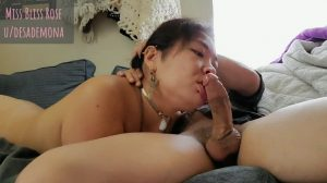 I'm Just A Happy Slut Getting To Swallow His Cum