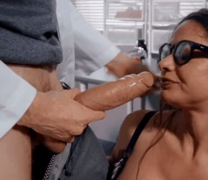 Taking That Big Cock In Deep