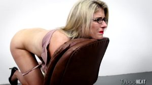 Tied On Chair And Getting Face Fucked