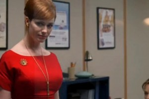 Christina Hendricks Back Plot In Mad Men
